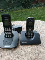 Telefon b/przewodowy Panasonic KX-TG6411PD 2 słuchawki