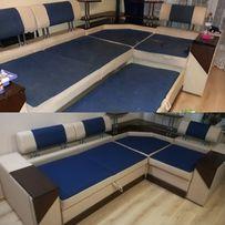 Перетяжка, ремонт детской мягкой мебели, диван, кровать, софа