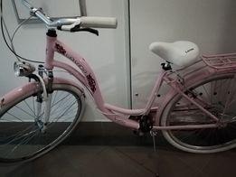 Aluminiowy pudrowy rower miejski 7 biegów 28 koła