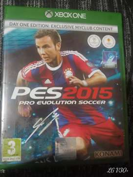 PES 2015 For Xbox one