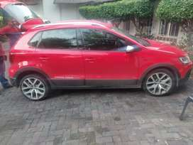 2017 Volkswagen Cross Polo with a great Red Black Interior