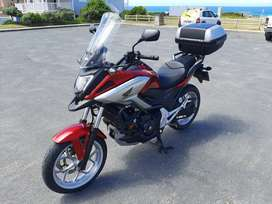 Honda NC750X DCT with extras for sale