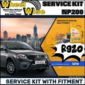 Nissan NP200 Service Kit ONLY R920 at Wheel Wise Witbank!