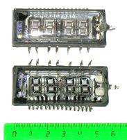 Люминесцентный индикатор ИВЛ2-7/5 (для электронных часов)