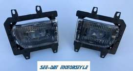 Bmw E30 spot lights clear