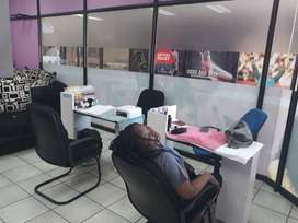 Busy,Clean & Professional Hair Saloon For sale in Sunnyside Pretoria