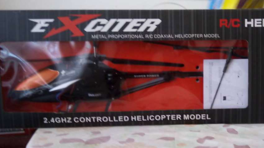 Exciter R/C Helicopter NO.R117 0