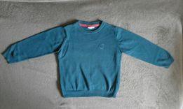 Granatowy sweterek Coolclub, rozmiar 110.