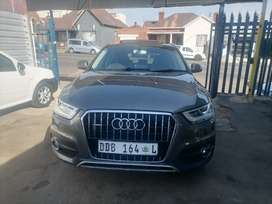 2014 Audi Q3 2.0 TDI with a leather seat and sunroof Automatic