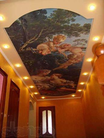 Натяжные потолки из Франции. Все виды ремонтно- строительных работ Полтава - изображение 1