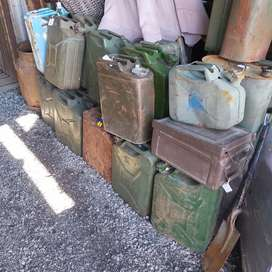 Second hand Jerry cans