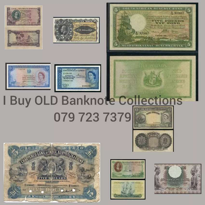 OLD banknotes Wanted!!