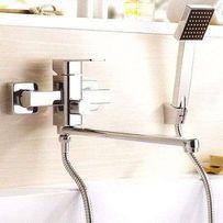 Смеситель для ванны латунный Дизайн в разных цветах Киев-склад Leb-7