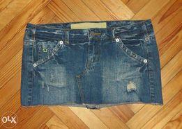 Модная джинсовая юбка Denim размер 46