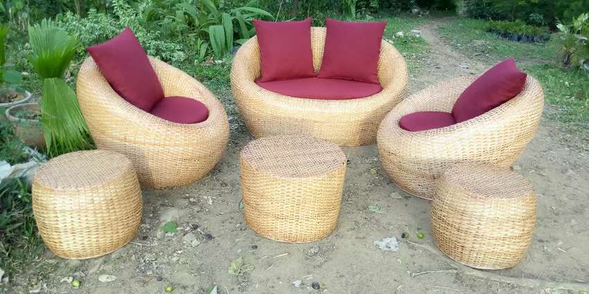 Coconut weaving chairs 0