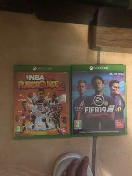 FIFA and NBA playgrounds 2 Xbox one