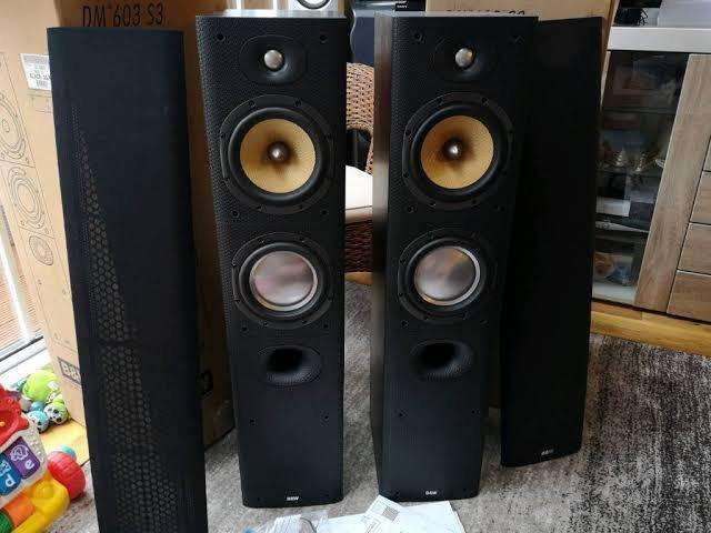 Yamaha & Bowers Wilkins home theatre package 0