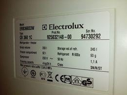 Lodówka marki electrolux
