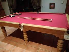 3/4 Snooker table Graphite top