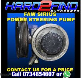 FAW SIRIUS POWER STEERING PUMP CONTACT US FOR A PRICE