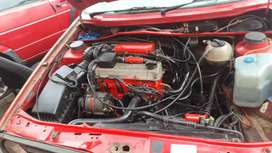 Vw 2l 8v complete engine with gearbox computer and wireing