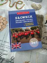 Nowy slownik ang-pol polsko-angielski 3 w 1Buchmann rozmowki gramatyka