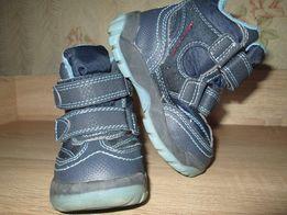 Демисезонные ботинки р.22(13,5), термо ботиночки.