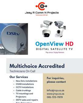 Dstv and Ovhd Installations Krugersdorp,Roodepoort and Ruimsig