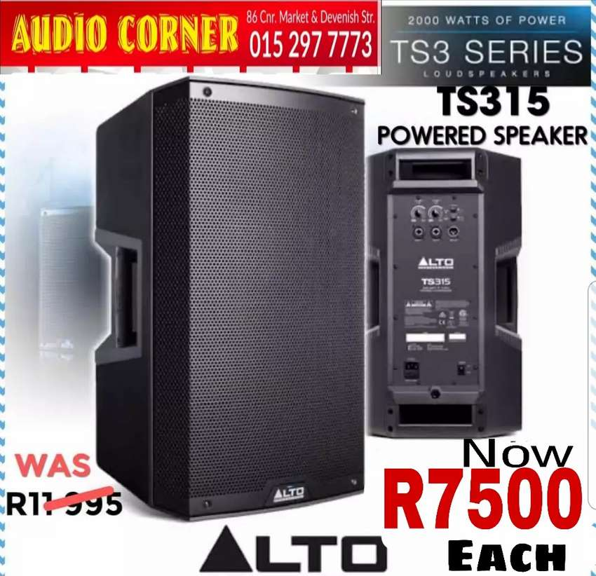 Alto Speakers Professional Sound 0