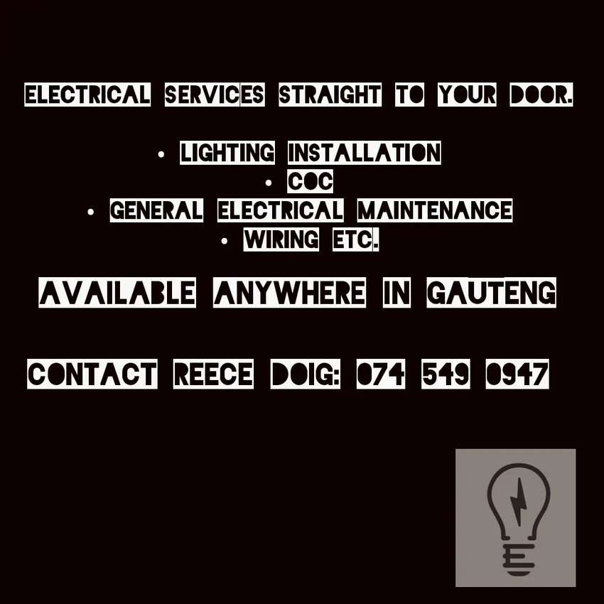 Electrician Looking For Clients