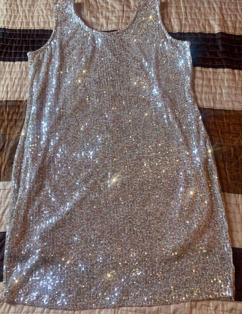 Bling Bling Gold Dress