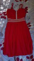 Sukienka czerwona S