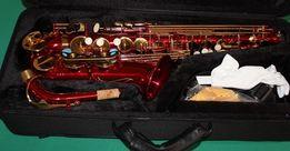 NOWA szkolny saksofon altowy NEW ORLEANS kolor czerwony M413