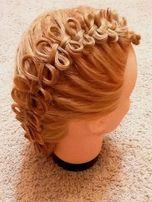 Окрашивание волос и стрижка на дому
