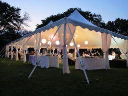 Wynajem namiotu, Hale namiotowe komunie, wesele namioty bankietowe