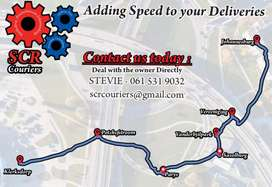 Courier services small loads transport