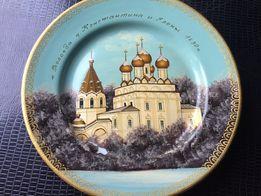 продам тарелку сувенирную Вологда, расписана вручную,без дефектов