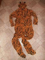 kostium,przebranie,piżama-z polarku tygrysek rozm S/M