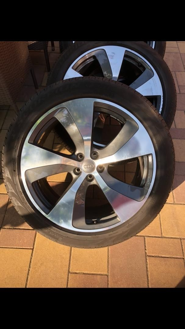 Alu disky 21' s letním obutím Pirelli 0