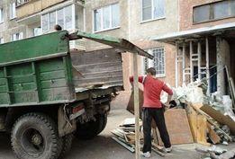 Уборка вывоз мусора грузчики демонтаж доставка
