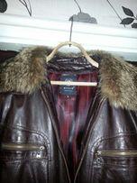 Кожанная куртка продам или обменяюсь на миксер-тестомес.