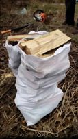 Drewno rabane w worakch.Rozpalkowe,opalowe lub do kominka.Dowoz