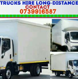 .Trucks for hire