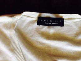 Twin set bokerko/sweterek pistacjowe