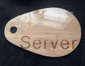 Large Bamboo Server Boards