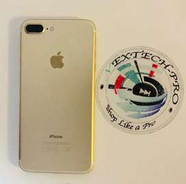 Iphone 7 plus ( gold) 128gig