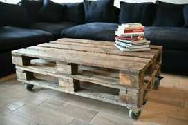 SELLING PALLET COFFEE TABLES RUSTIC OR VARNISH CAN DELIVER R950