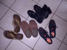 Shoes and slops for sale R50 each size 10