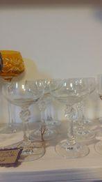 Thomas kieliszki do szampana sygnowane 6 sztuk