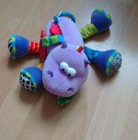 Lamaze zabawka dla niemowlaka, zawieszka, gryzak, grzechotka